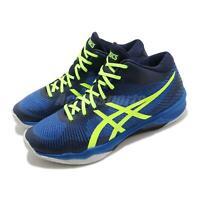 Asics Volley Elite FF MT Illusion Blue Hazard Green Men Volleyball B700N-407
