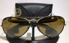 RAY-BAN RB3025JM 001 TORTOISE GOLD / BROWN SUNGLASSES -  W/ CASE 58-14-135