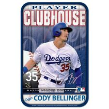 """CODY BELLINGER LOS ANGELES DODGERS CLUBHOUSE 11""""X17"""" PLASTIC SIGN DURABLE POSTER"""
