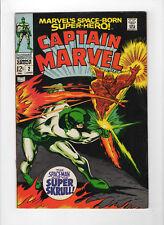 Marvel's Space-Born Superhero! Captain Marvel #2 (Jun 1968, Marvel) - VF/NM
