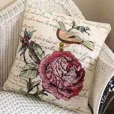 Asian/Oriental Living Room Decorative Box Cushion Covers