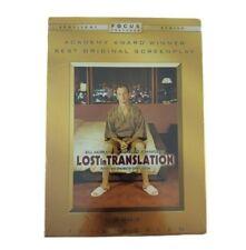 Lost in Translation Full Screen Dvd Bill Murray Scarlett Johansson New Sealed