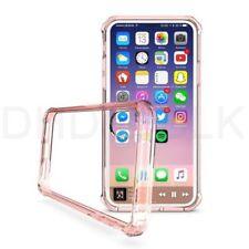 Fundas y carcasas transparentes Para iPhone X color principal rosa para teléfonos móviles y PDAs