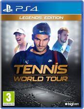 TENNIS WORLD TOUR LEGEND EDITION VIDEOGIOCO ITALIANO PS4 GIOCO UK PLAYSTATION 4