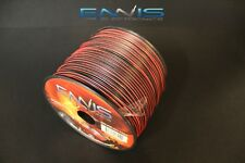 24 Gauge 200FEET 99.9/% Copper stranded OFC Bonded Cable Red//Black Wire Spool Z24