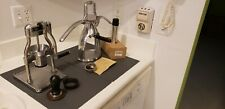ROK ESPRESSO COFFEE MAKER AND ROK GRINDER WITH EXTRA ACCESSORIES