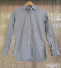 Vintage Chambray Shirt Eaton Made 50s Work Shirt Women Size Pxs