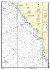 NOAA Chart Point Conception to Point Sur 23rd Edition 18700