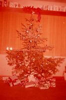 CHRISTMAS TREE Vintage 35mm FOUND SLIDE Transparency FREE SHIPPING Photo 4 I