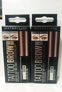 Maybelline Tattoo Brow 3 Day Eyebrow Peel Tint - Choose Your Shade