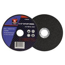 10pc Corte Rodas 4-1/2 pol X 1/16 Pol X 7/8 Pol Polegadas Para Corte De Metal De Aço Inoxidável