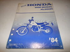 NOS OEM Factory Honda 1984 XR350 Shop Manual