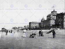 LE KURSAAL AND HOTELS SCHEVENINGEN HOLLAND OLD BW PHOTO PRINT POSTER 1150BWB