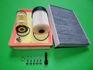 Filterset Filtersatz Inspektionspaket Opel Vivaro B 1.6 CDTI (66-107kW)