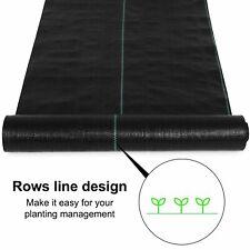 Garden Weed Barrier Landscape Fabric Black 4*50 Ft Landscape Fabric Easy Setup
