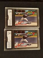 Lot of 2 * GEM MINT 10* Ronald Acuna Jr 2018 Topps Update #US252 Rookie PSA???