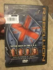 WWF - Rebellion (DVD, 2002)