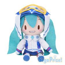 Sega Vocaloid Hatsune Miku SNOW 2016 Special Fluffy Plush Doll Toy US SELLER