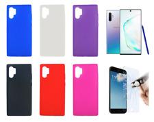 "Funda Carcasa Silicona Gel TPU Para Samsung Galaxy Note 10+ 6.8"""