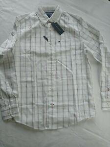 Tommy Hilfiger Men's Von Tattersall Cotton Shirt - (XS)