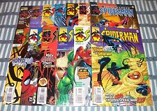 Lot of 13 Peter Parker Spider-Man Comics from #9 - 22 + 2000 Annual from 1999 up