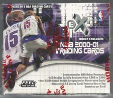 2000-01 Fleer EX Basketball Hobby Box