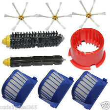 Filters Brushes 6 armed kits Cleaning Tools for iRobot Roomba 620 630 660 670 OZ