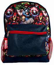 Marvel Avengers Superheroes Symbol Navy Roxy Children's Backpack School Bag