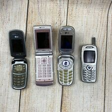 4 Used Cell / Mobile Phones 3 Sprint 1 Audiowox