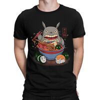 My Neighbor Totoro Ramen Funny T-Shirt, Studio Ghibli Hayao Miyazaki Tee