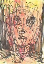 JORG SEIFERT - Disegno Originale Tecnica Mista - Original Drawing