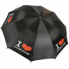 Me encanta London Unisex paraguas compacto y plegable Brolly cubierta Mini Bolso De Mano De Turismo