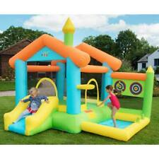 Bounce House Bouncy Castle Inflatable Outdoor Garden Fun Play with Accessories