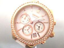 Auth DKNY NY-8183 Gold White Women's Wrist Watch 251112