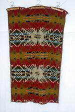 "PENDLETON Beaver State Blanket Full 44x71"" 1980s Native Geometric Indian Charity"