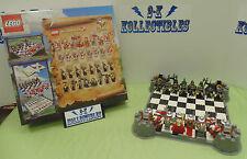 Lego Kingdoms Chess Set #853373 100% Complete!!!