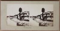 Damasco Dimashq Siria Stereo Vintage Albúmina Aprox 1860