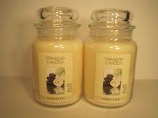 "Yankee Candle, (2) 22 oz. Jars ""Serenity Spa"""