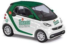 BUSCH 46218 Smart Fortwo Coupé 2012 Wernesgrüner H0 #NEU OVP#