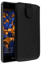 mumbi Ledertasche für Huawei P10 Lite Hülle Leder Tasche Etui Wallet Case Cover