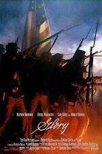 CIVIL WAR movie poster GLORY matthew broderick DENZEL WASHINGTON 24X36 1989