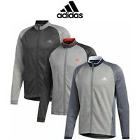 adidas Mens Performance Midweight Full Zip Textured Golf Jacket / New for 2020