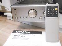Denon PMA 6.5 Integrated Hi-fi Separates Amplifier inc remote. VGC