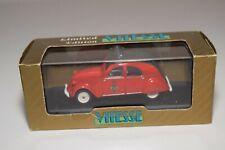 A1 1:43 VITESSE L003 CITROEN 2CV 2 CV 1957 POMPIERS DE PARIS MIB