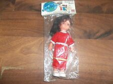 "Vintage Jak Pak Inc. Dolls Of The World Spain 7 1/2"" Doll MISP!! 1983"