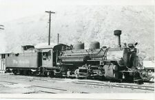 5G611 RP 1958/60s DRGW RIO GRANDE RAILROAD LOCOMOTIVE #473 DURANGO CO