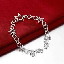 Fashion 925 Silver plated Jewelry Star Bracelet For Women H178