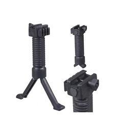 Durable Tactical RIS Fore Grip Bipod Pod Picattinny Weaver Rail Rifle Foregrip