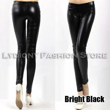 Leather Regular Size Pants for Women