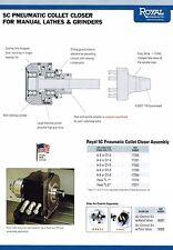 Royal Pneumatic CNC Lathe 5C Collet Chuck # 17211 Spindle Haas TL-2